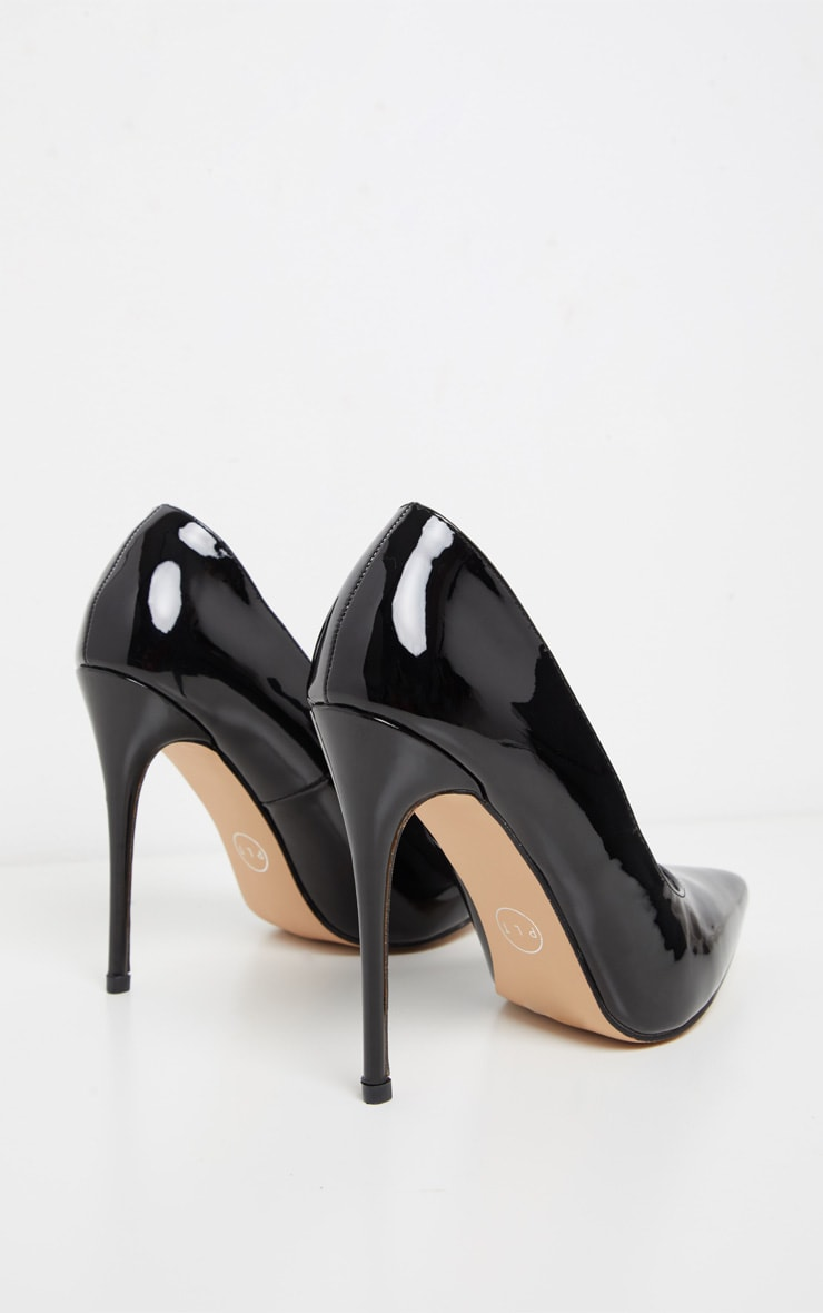 Black Court Shoes 4