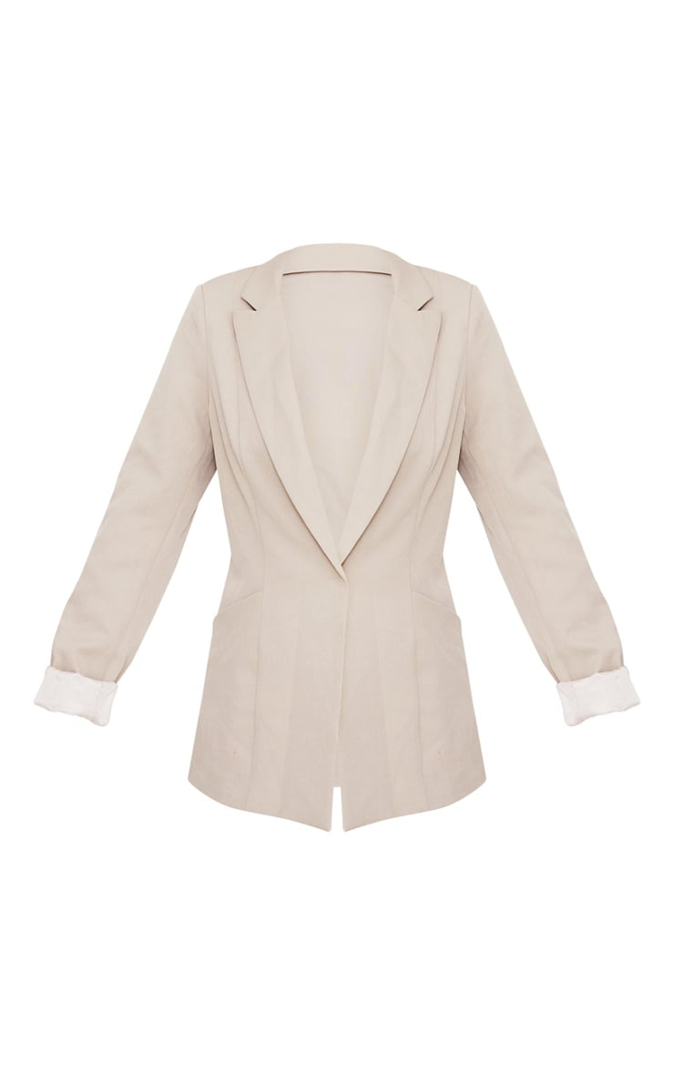 Pebble Oversized Pocket Front Blazer  3