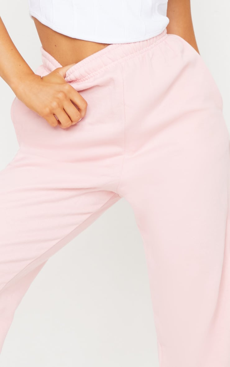 Baby Pink Casual Jogger 4