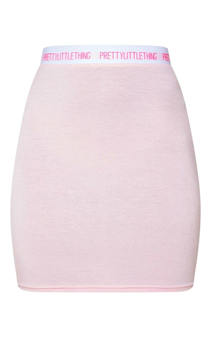 PRETTYLITTLETHING Pink Bodycon Mini Skirt 3