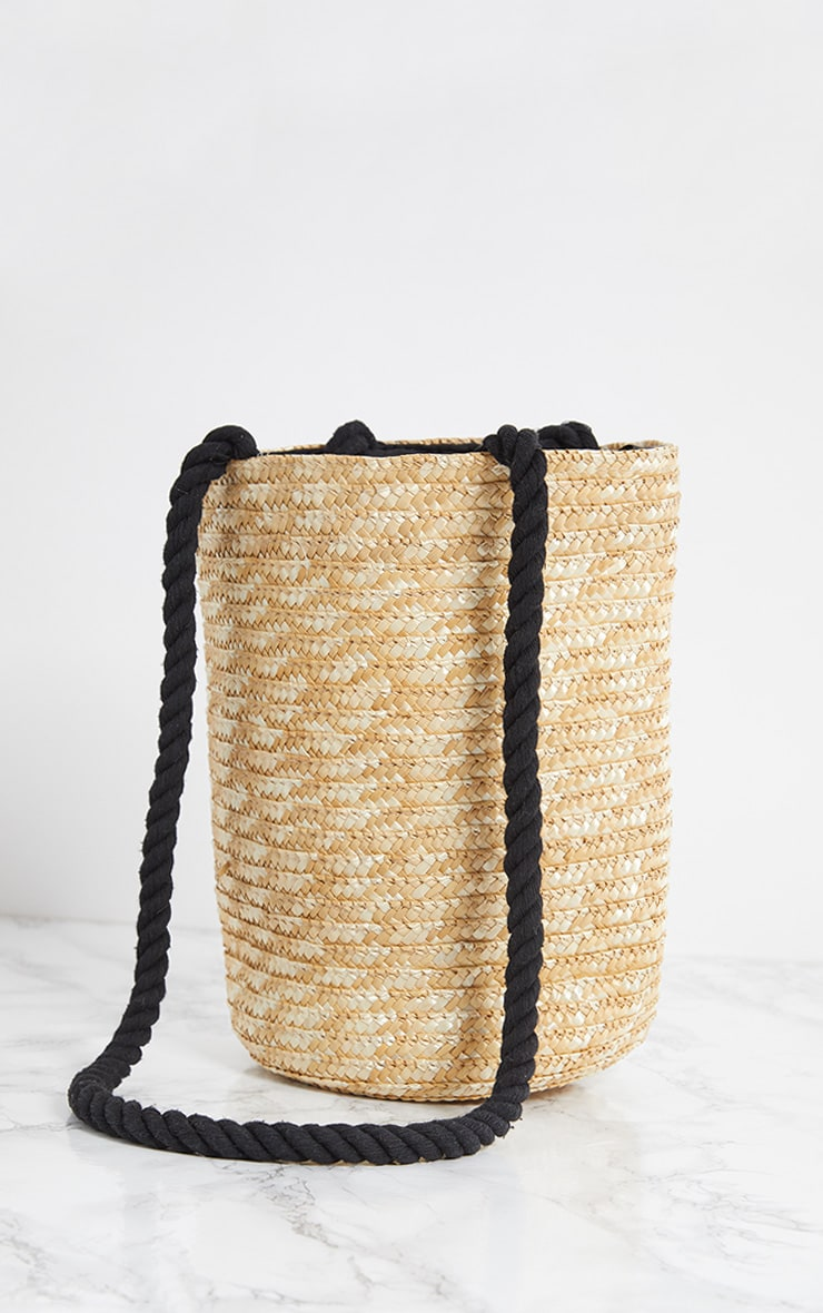 Straw Bucket Bag 3