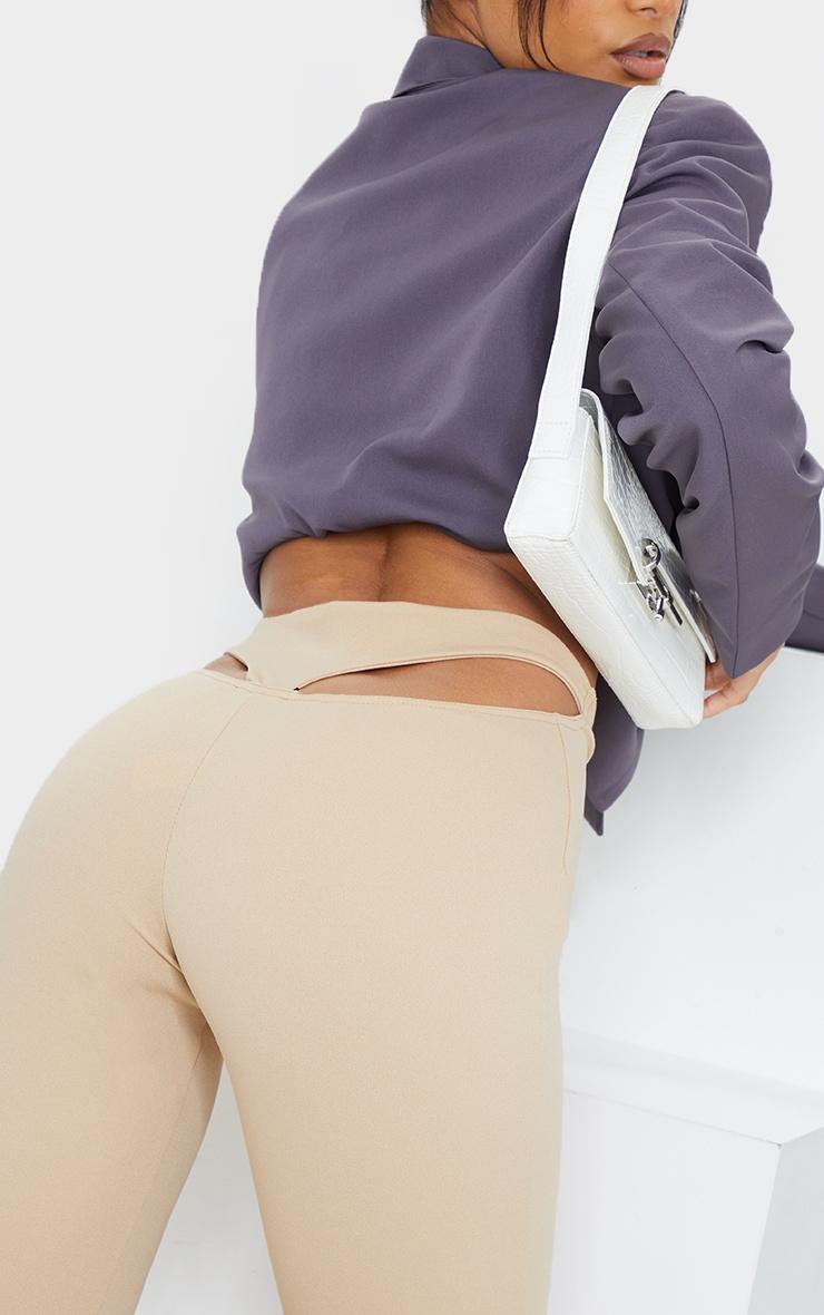 Stone T Bar Skinny Pants 4