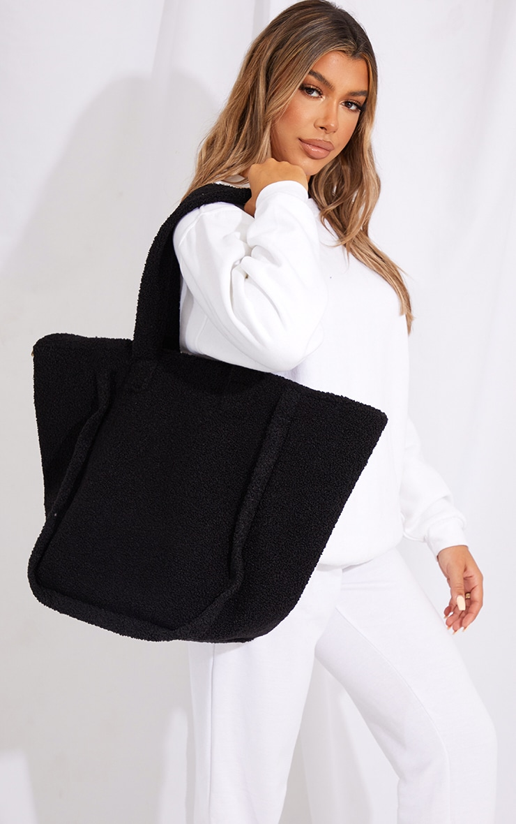 Black Borg Tote Bag 1
