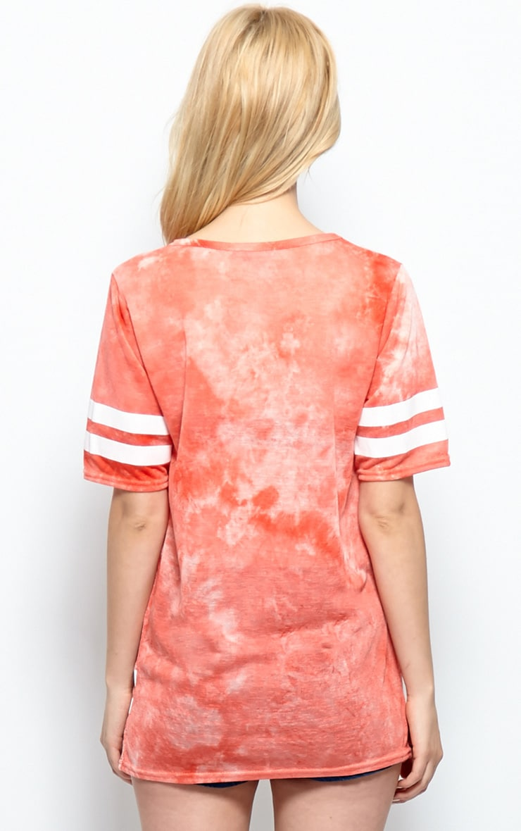 Luci Red Tie Dye '85' Sports Tee 2
