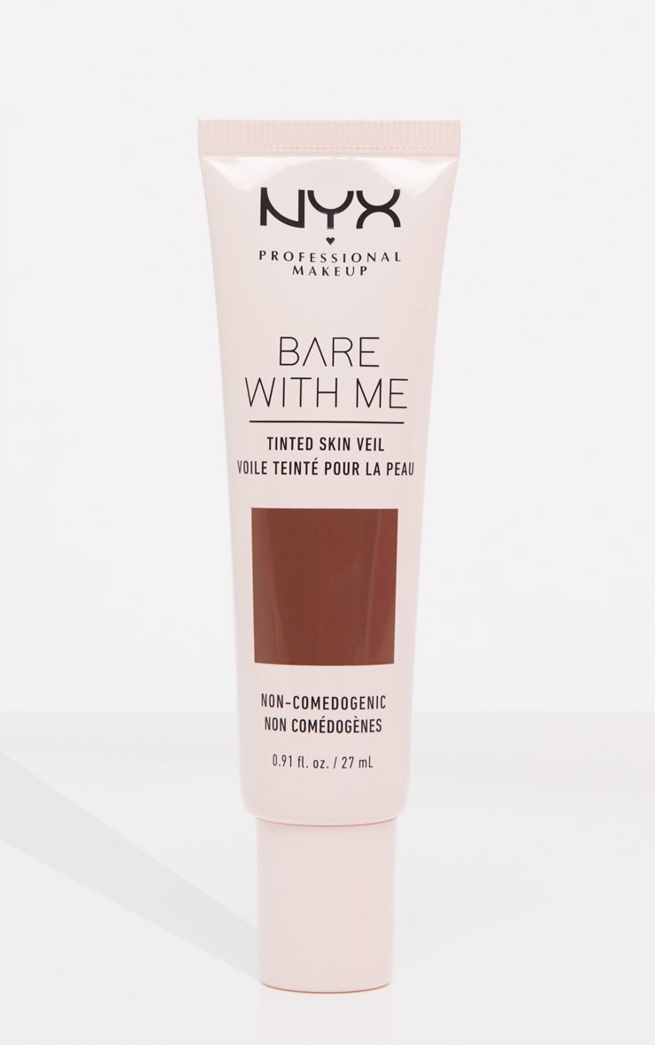 NYX Professional Makeup Bare With Me Tinted Skin Veil Deep Espresso 1