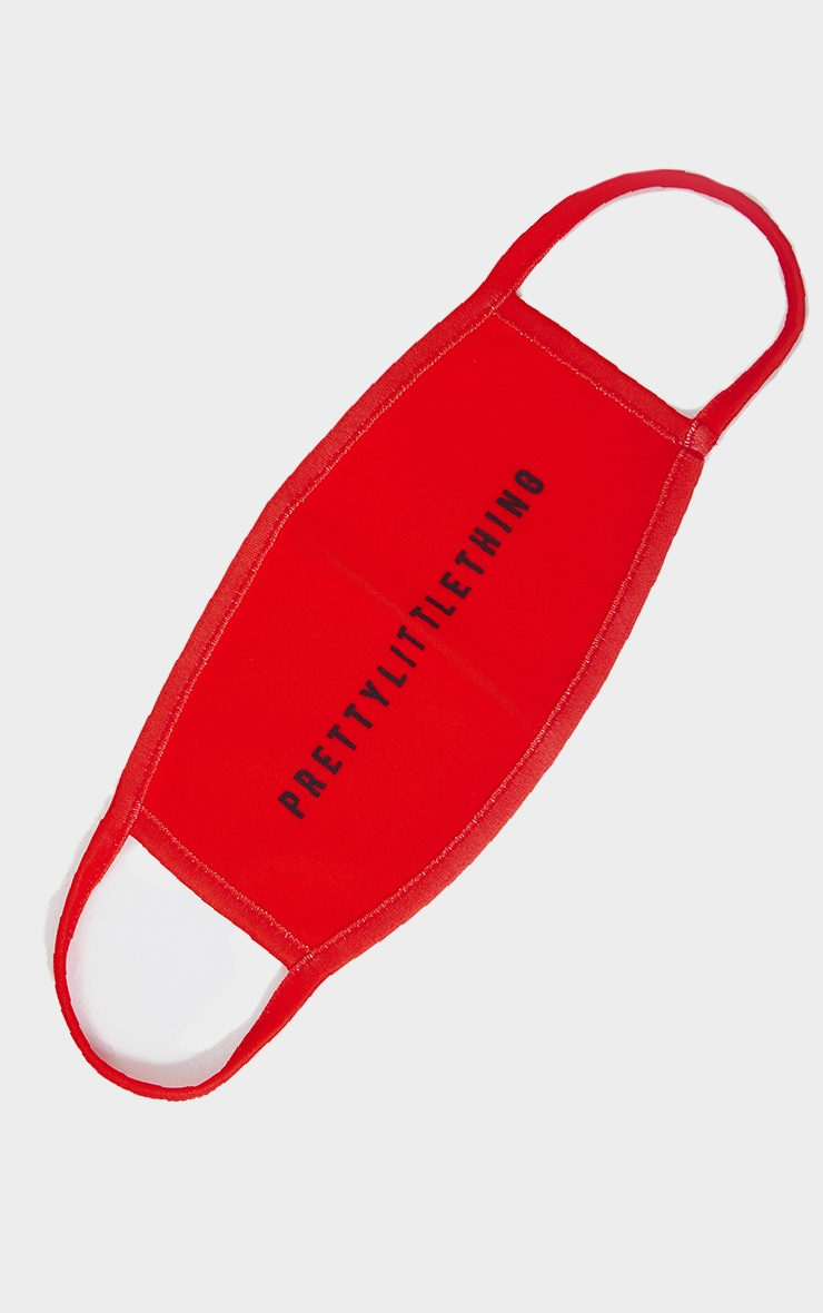 PRETTYLITTLETHING Red Fashion Mask 1