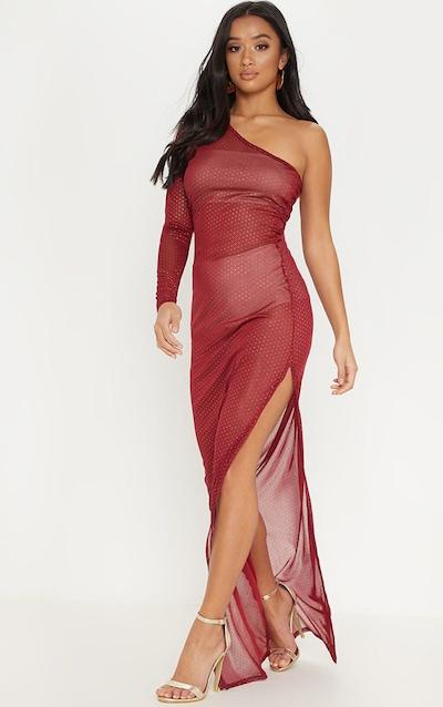 e9bbb20cabae Maxi Dresses | Long Dresses | Flowy Slit Dresses | PrettyLittleThing USA