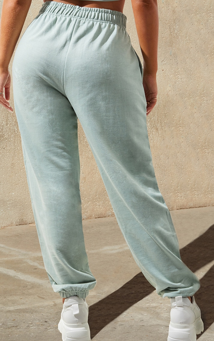 Light Mint Casual Joggers 4