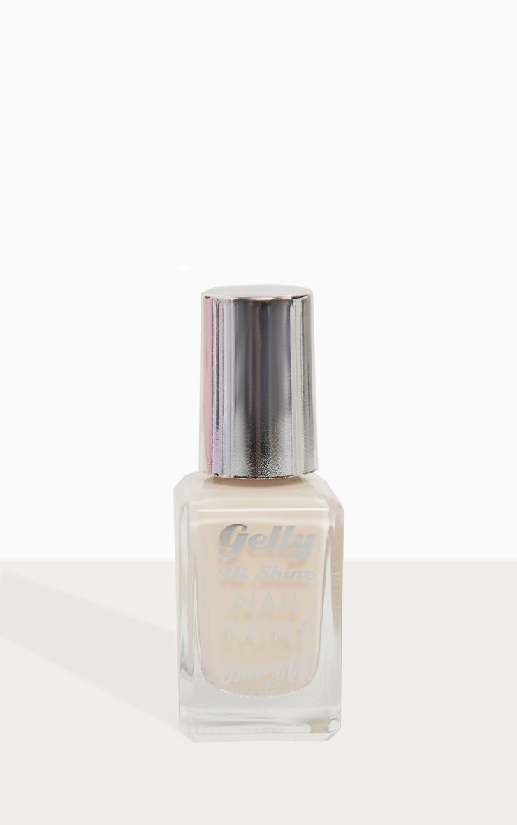 Barry M Cosmetics Gelly Nail Paint Iced Latte 3