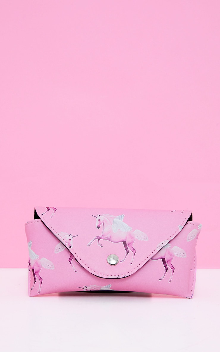 PLT Pink Unicorn Sunglasses Case