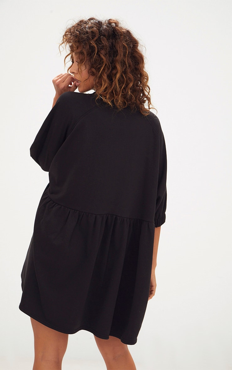Black Smock Sweater Dress 2