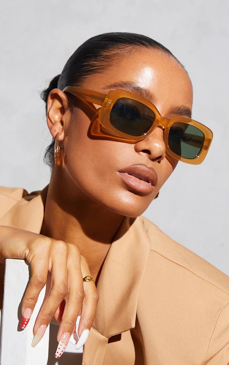 A.Kjaerbede Salo Light Brown Sunglasses 1