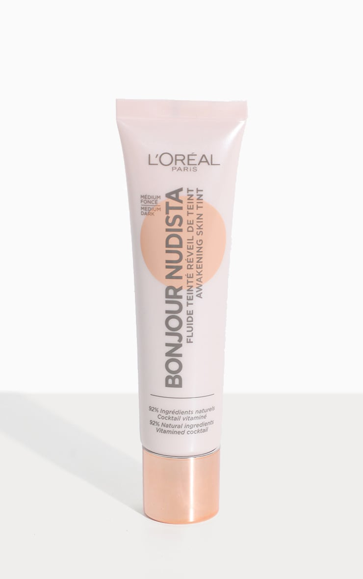 L'Oréal Paris Bonjour Nudista Skin Tint Cream Medium Dark 1