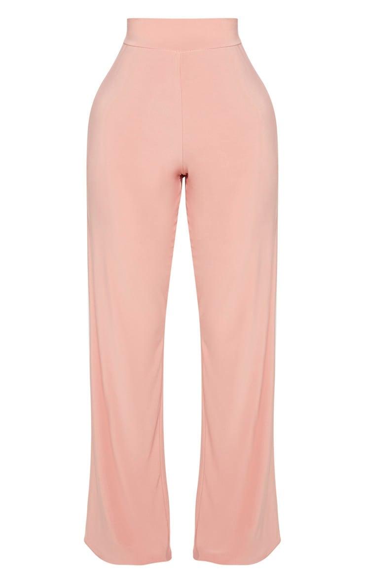 Shape Pink Slinky Extreme Wide Leg Trousers 3