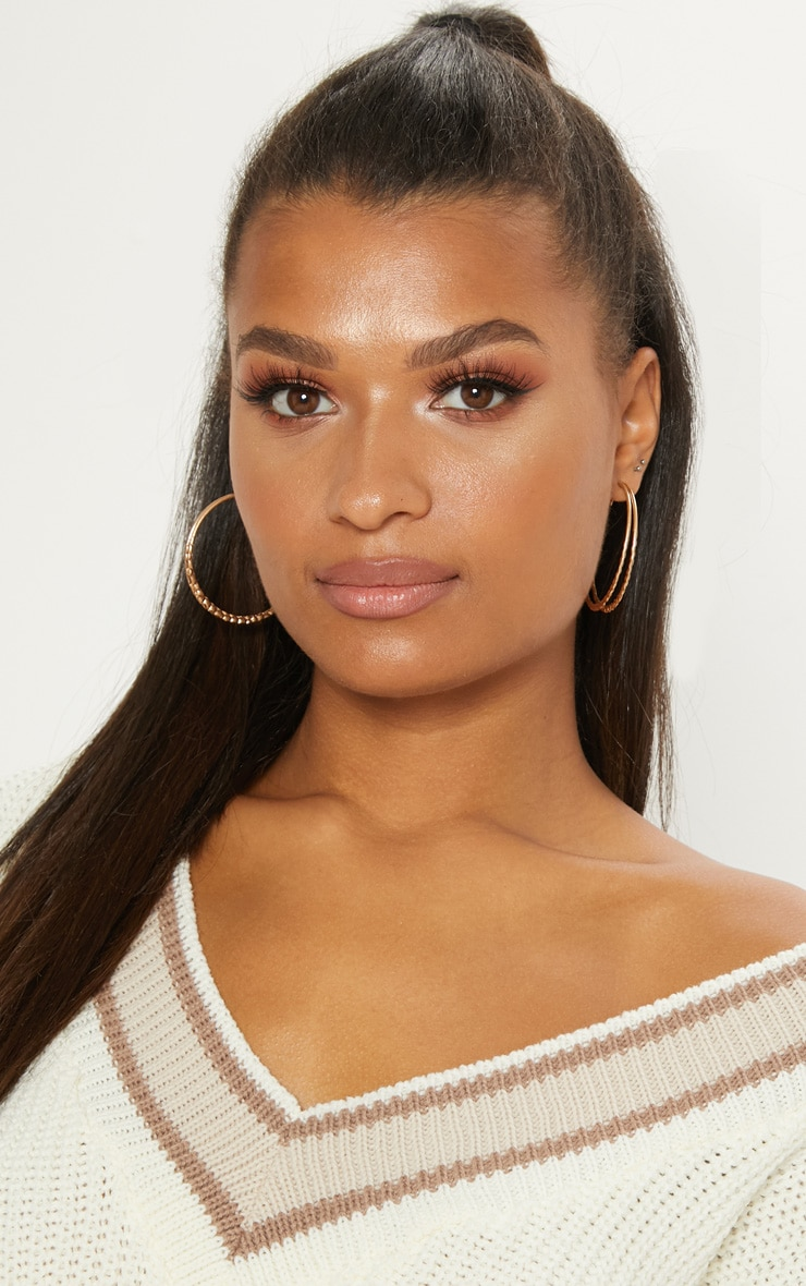 Gold Double Layer Hoops 1