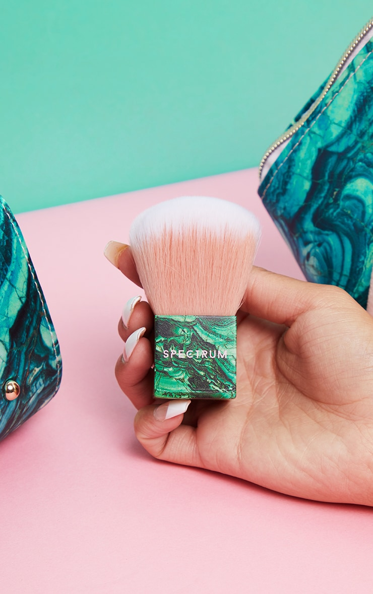 Spectrum Malachite Kabuki Brush 1