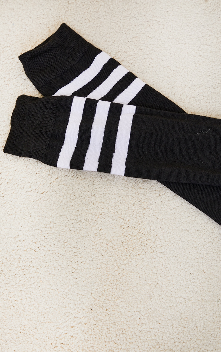 Black Knee High Referee Socks 3