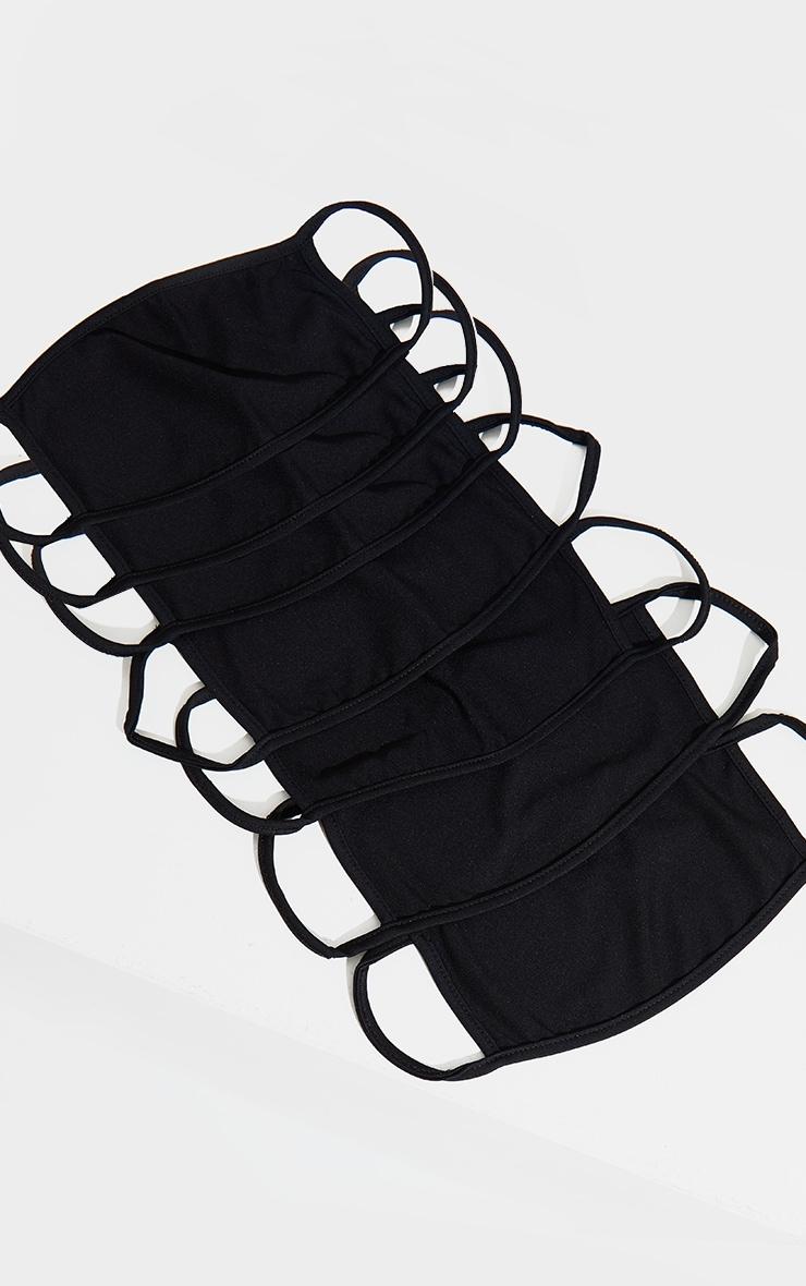 Black 7 Pack Face Mask 1