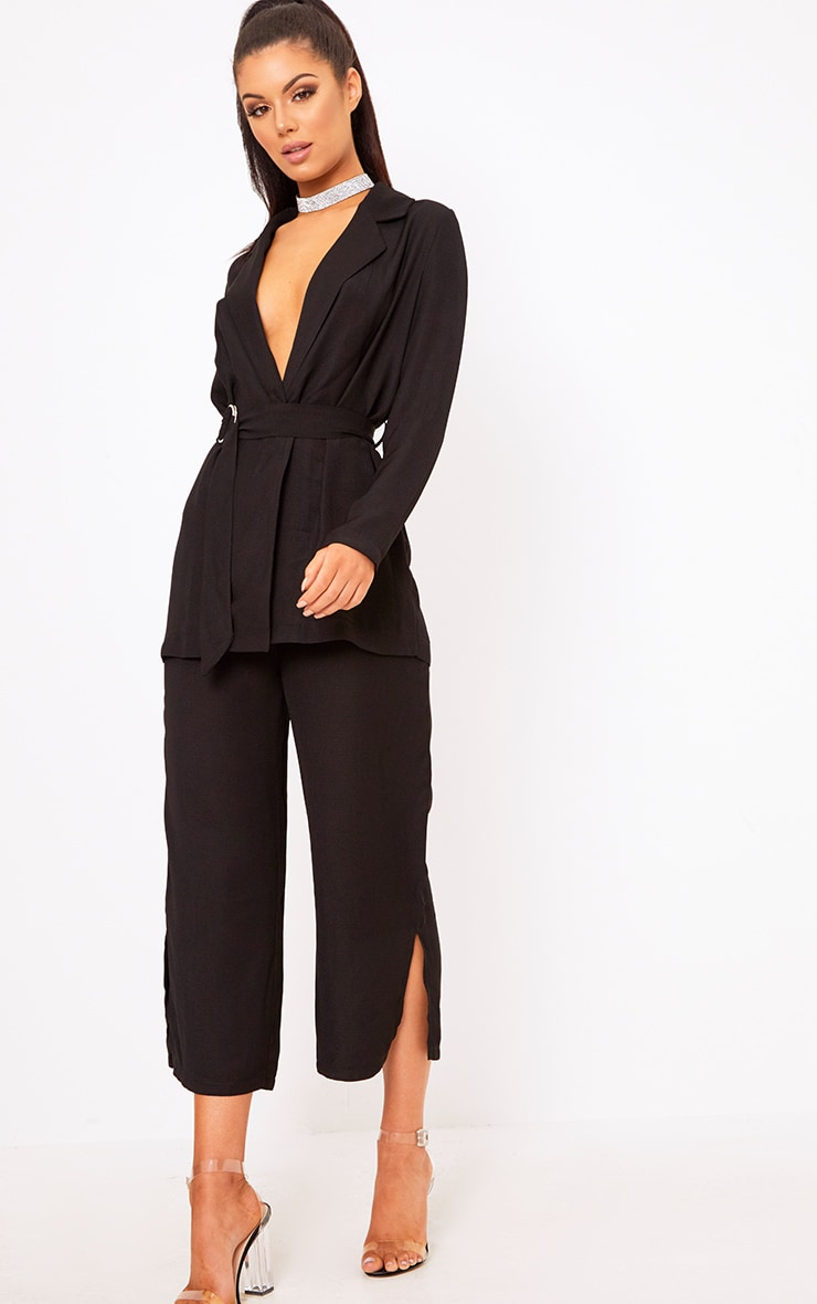Romilly Black Suit Culottes 1