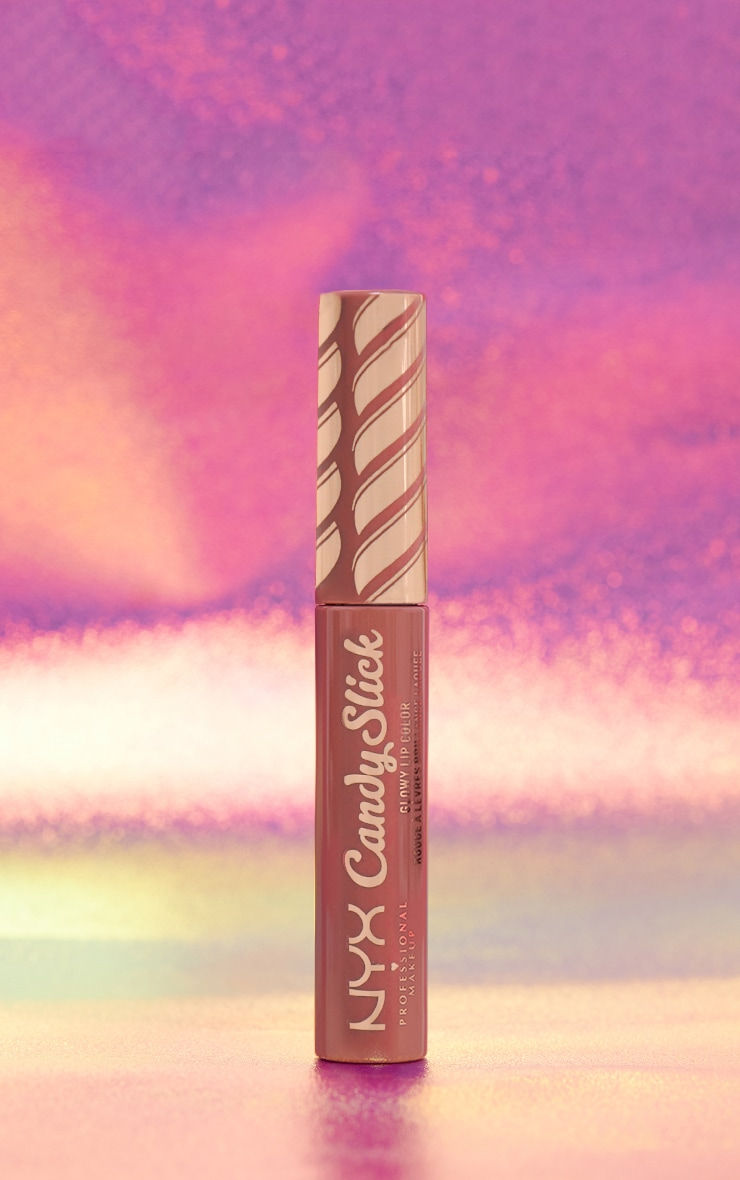 NYX Professional Makeup Candy Slick Glowy Lip Colour S'more Please 1