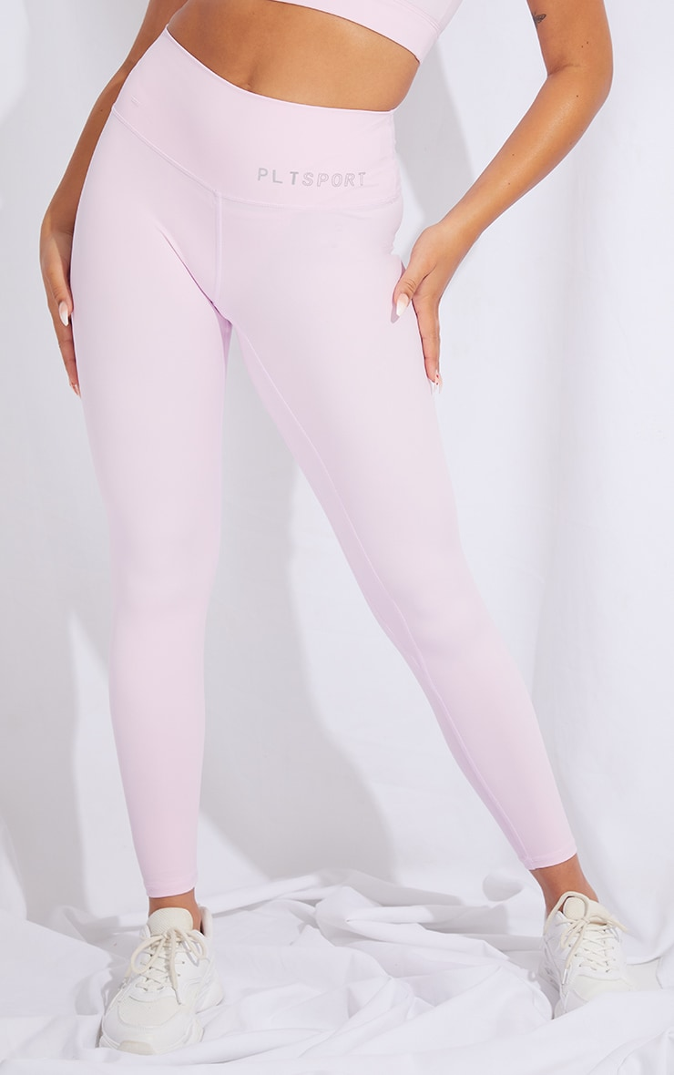 PRETTYLITTLETHING Pink Sculpt Luxe High Waist Gym Legging 2