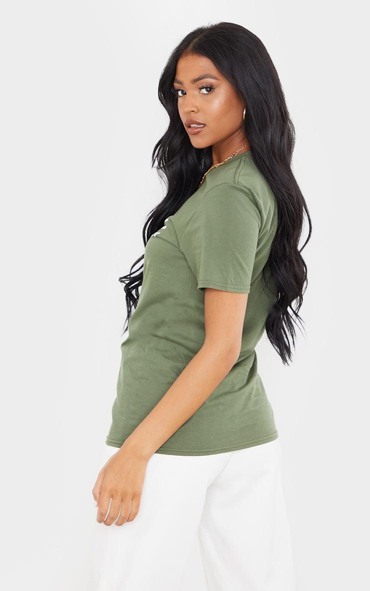 Tall Sage Green Sunday Style T Shirt 2