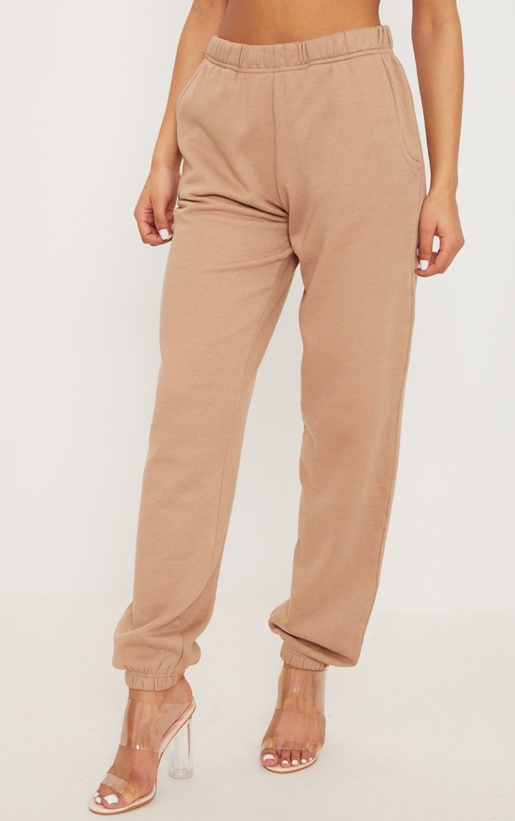 Taupe Casual Jogger 2