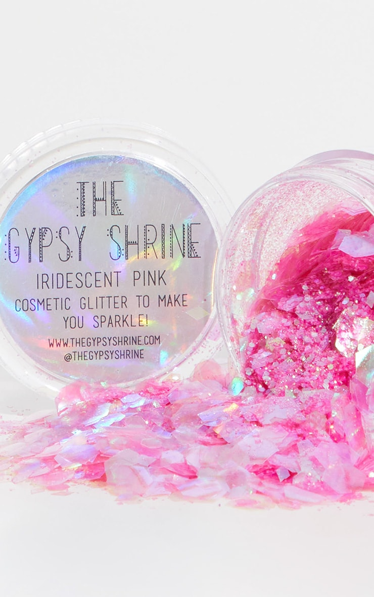 The Gypsy Shrine Iridescent Pink Glitter Pot 1