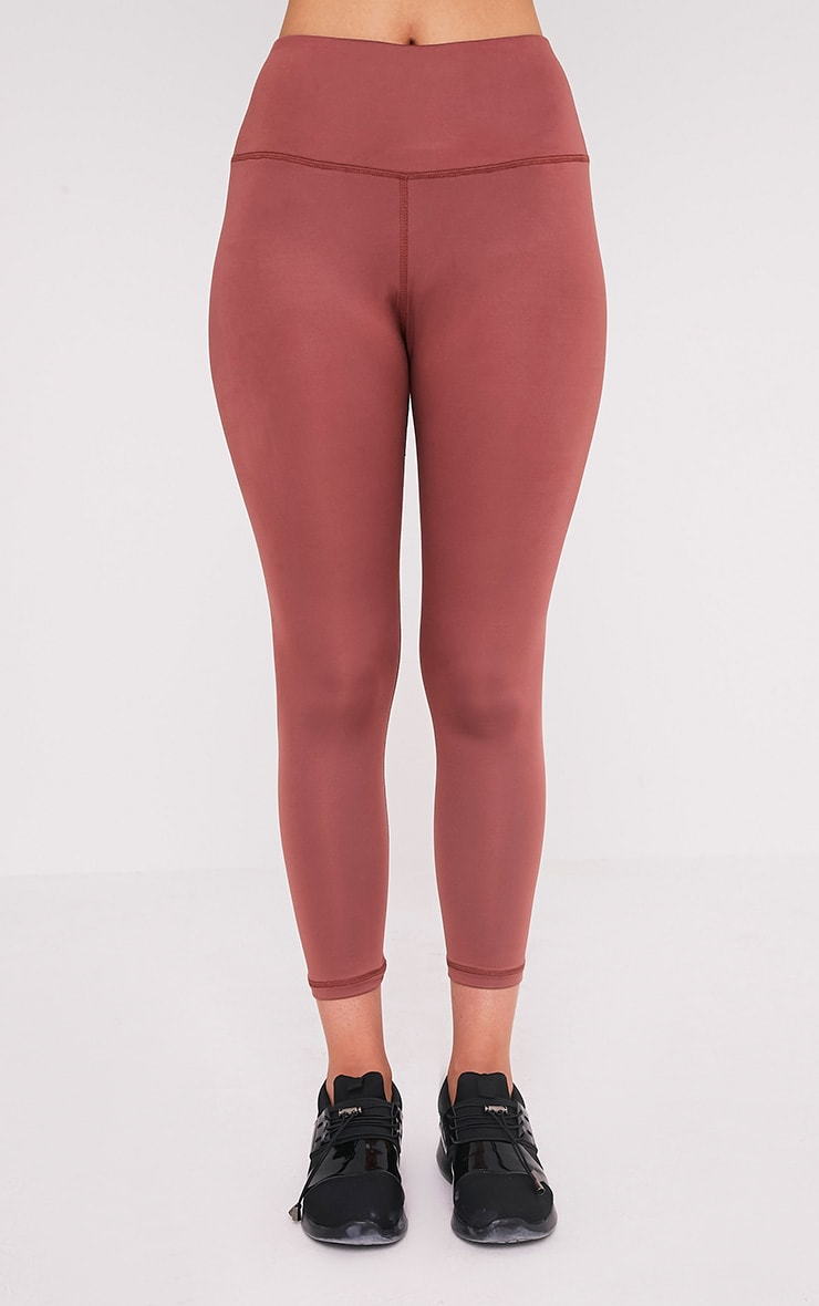 Brooke leggings de gym rose pâle 2