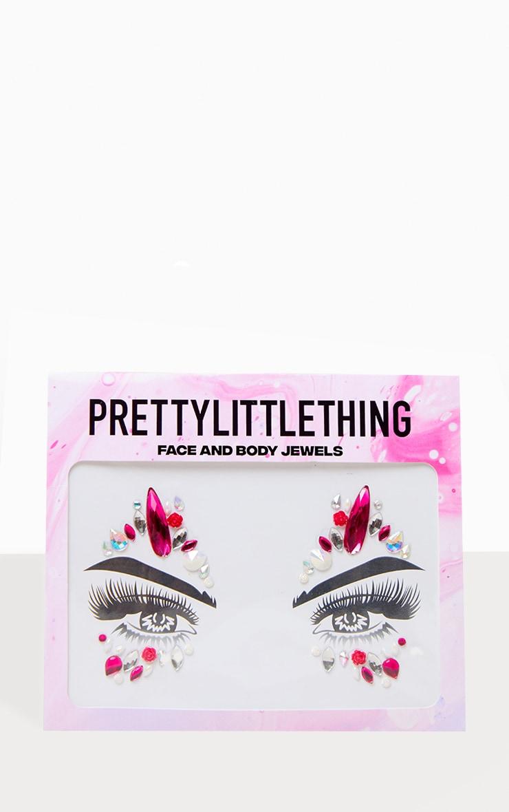 PRETTYLITTLETHING - Bijoux de visage Pink Pegasus 1