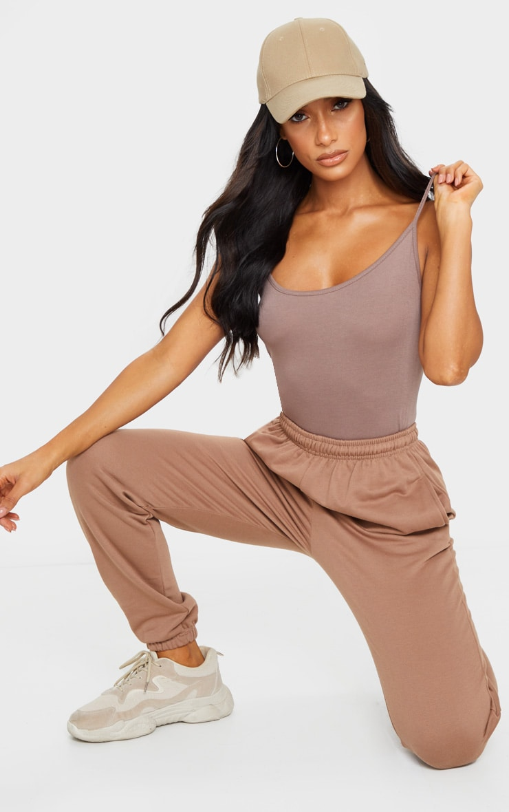 Basic Mocha Bodysuit 3