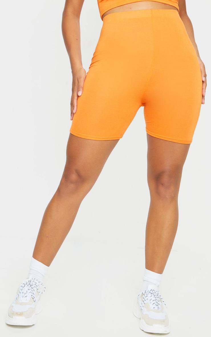 Shape Orange Jersey Cycling Shorts 2