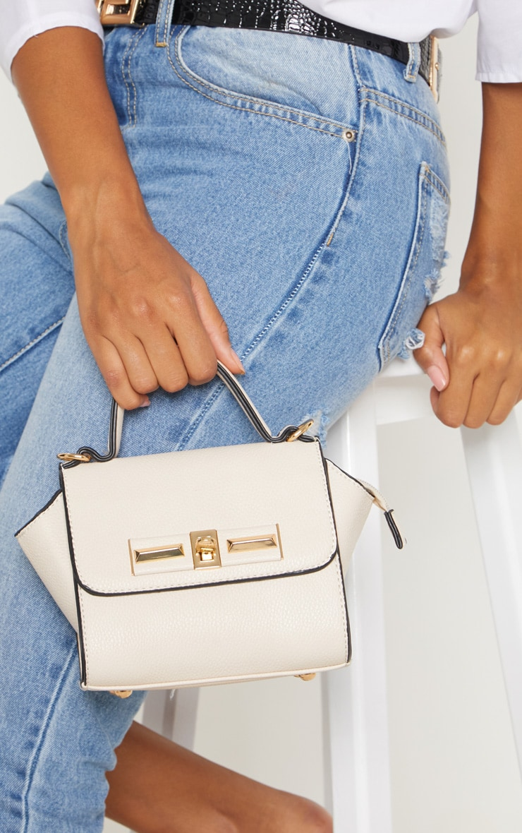 Cream Mini Handbag