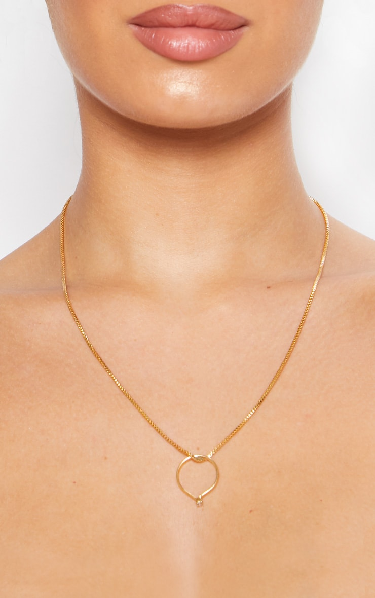 Gold Delicate Chain Necklace 3