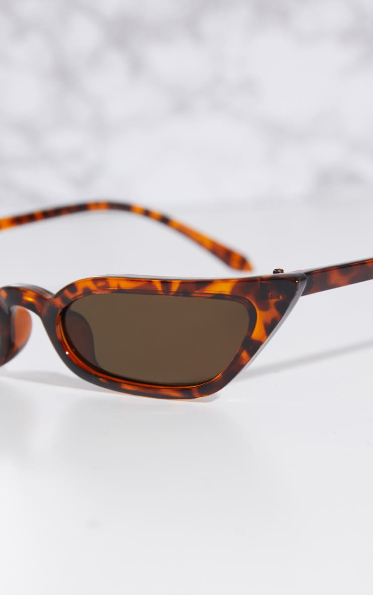 Tortoise Shell Cat Eye Sunglasses 3