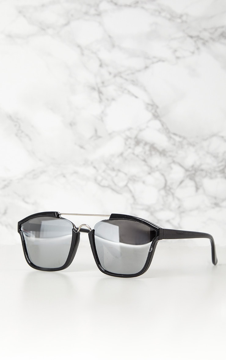 Black Brow Bar Sunglasses 3
