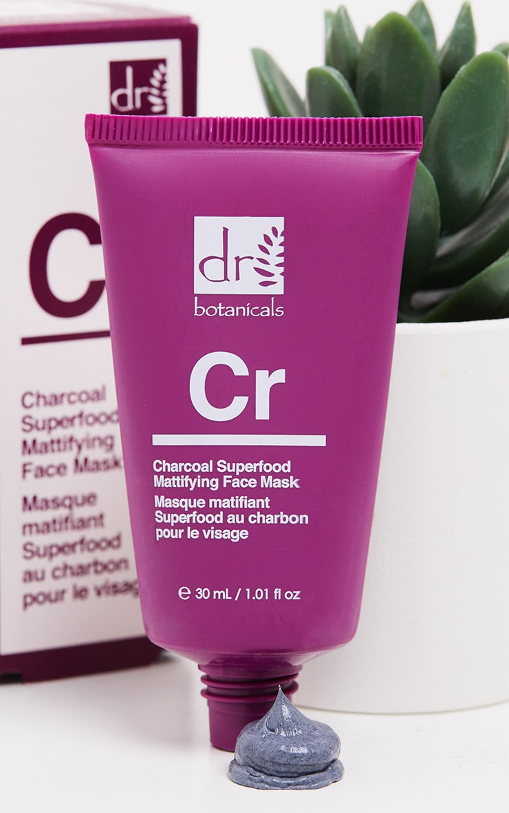 Dr Botanicals Charcoal Superfood Mattifying Face Mask (Travel Size) 1