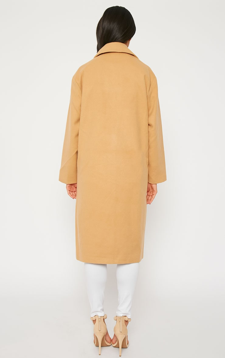 Trisha Camel Long Coat 2