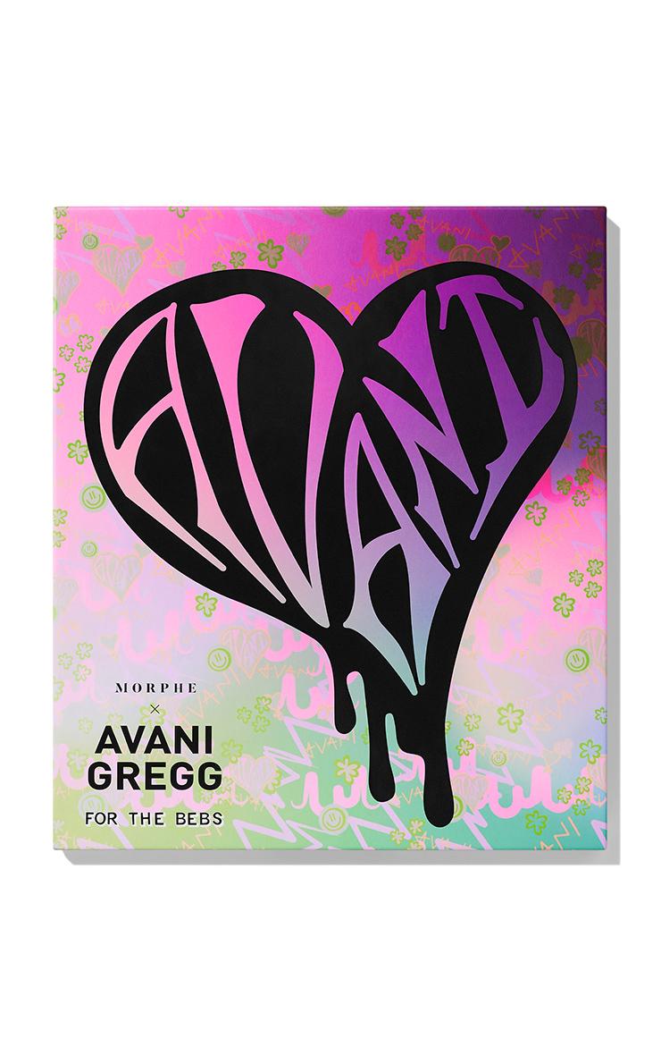 Morphe X Avani Gregg For The Bebs Artistry Palette 2