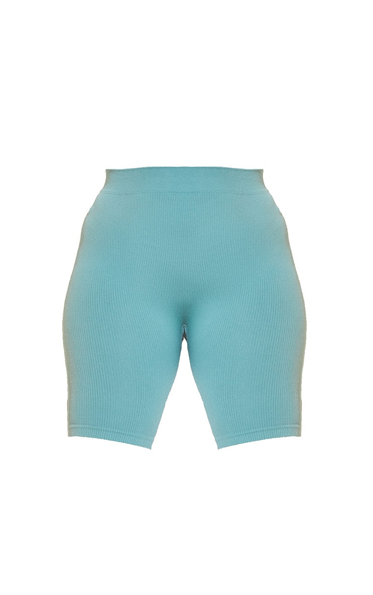 Plus Green Contour Cycle Shorts 6