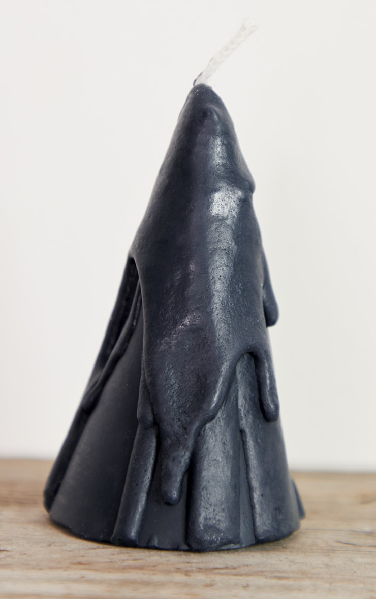 Black Dripping Cone Scented Soy Wax Candle 8cm 5