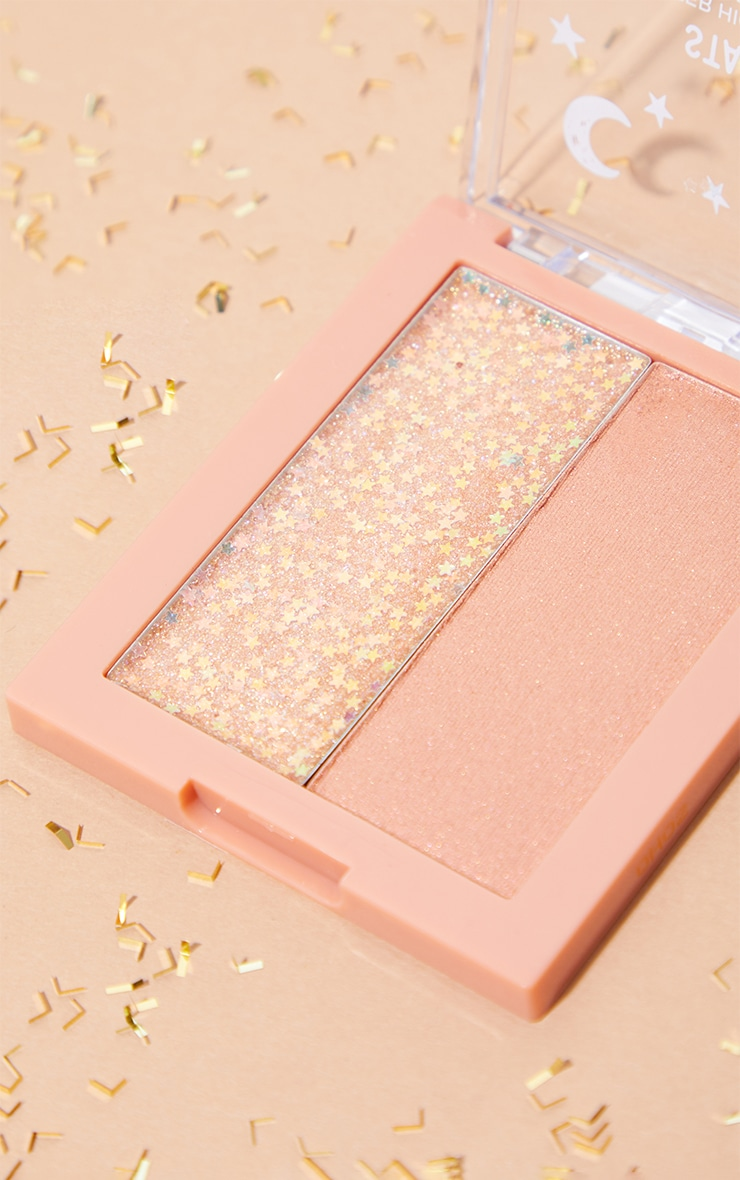 wet n wild Star Lux Glitter Highlighter Duo Now or Nova 4