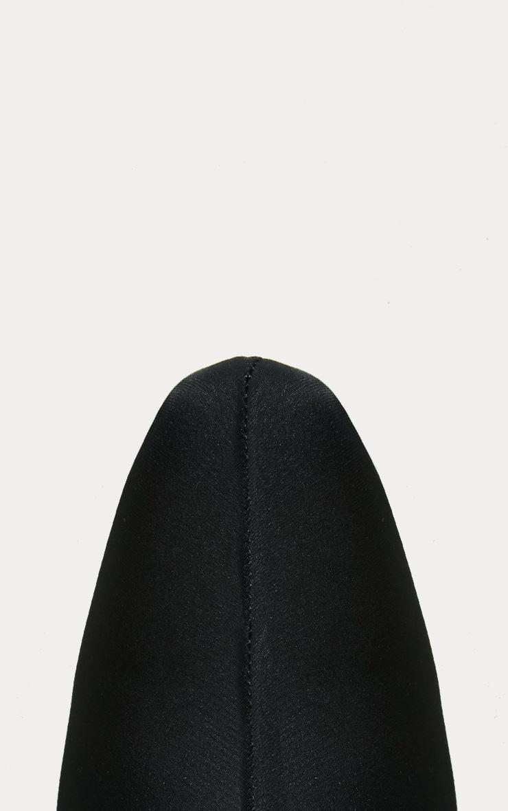 Bottes plates noires  3