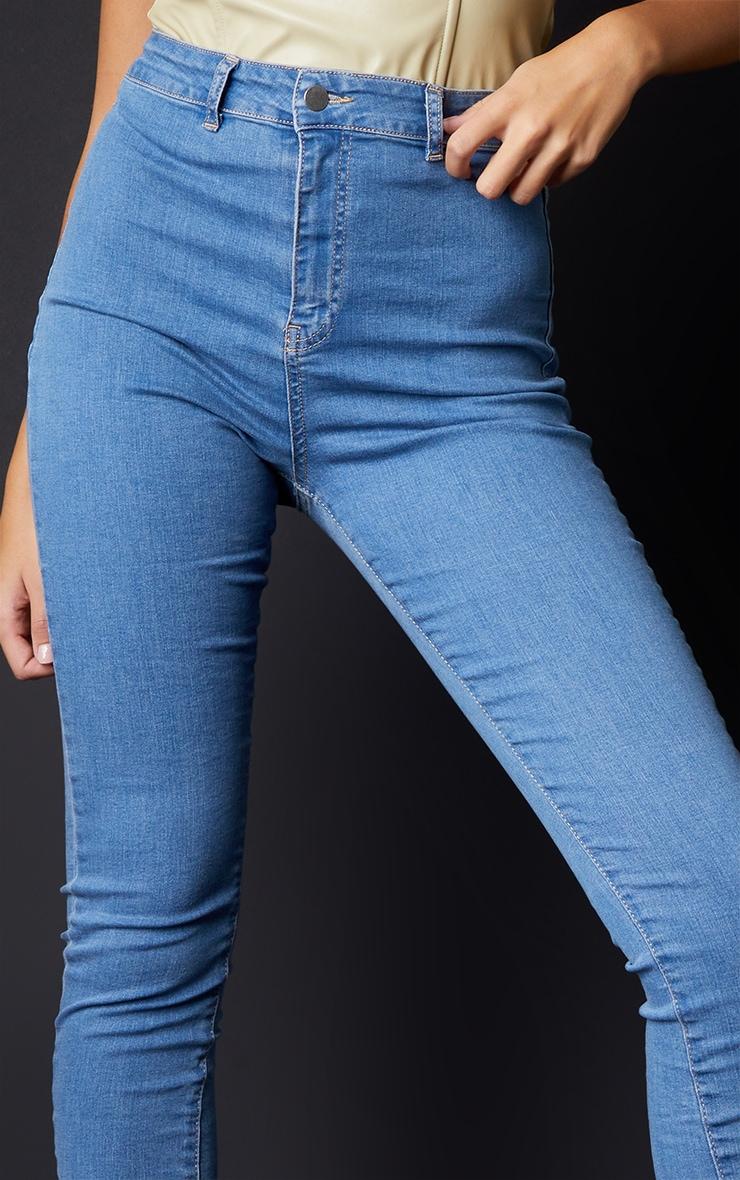 Tall Light Wash Super Stretch Skinny Jeans 4