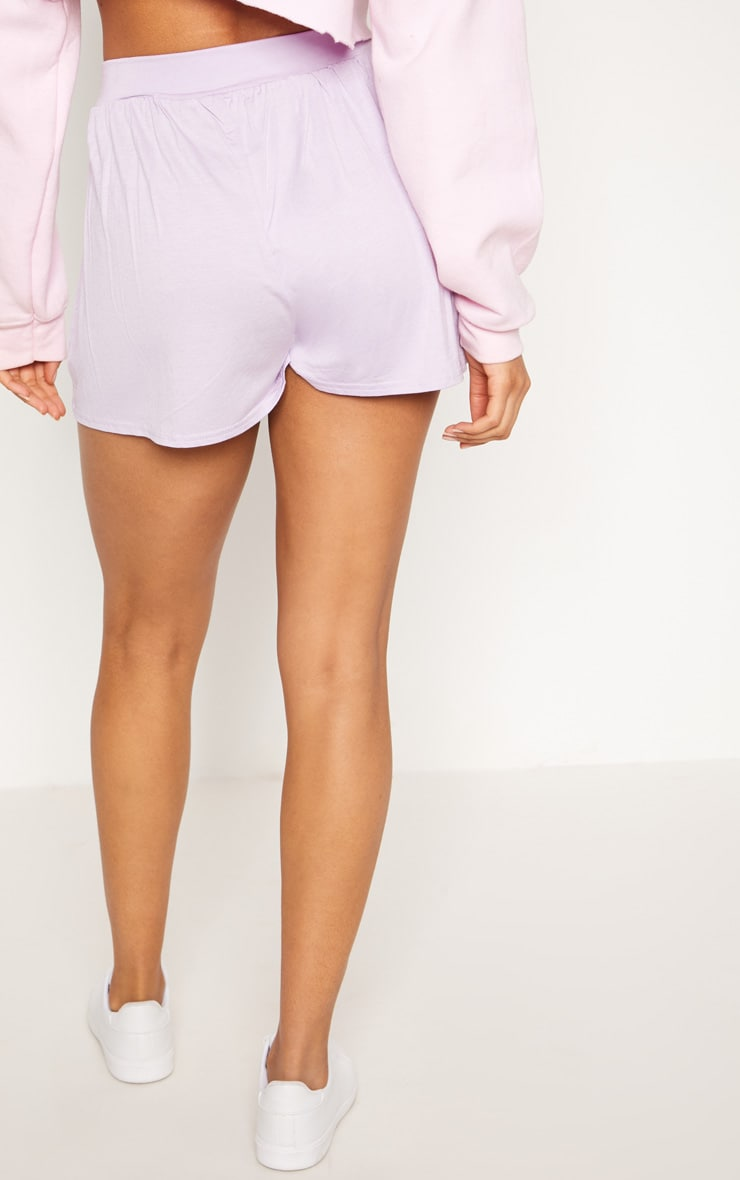 Lilac Jersey Floaty Short 4