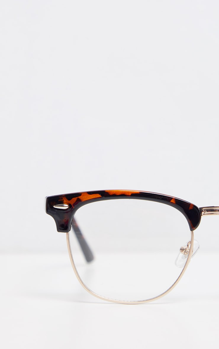 Tortoise Shell Retro Reader Glasses 3
