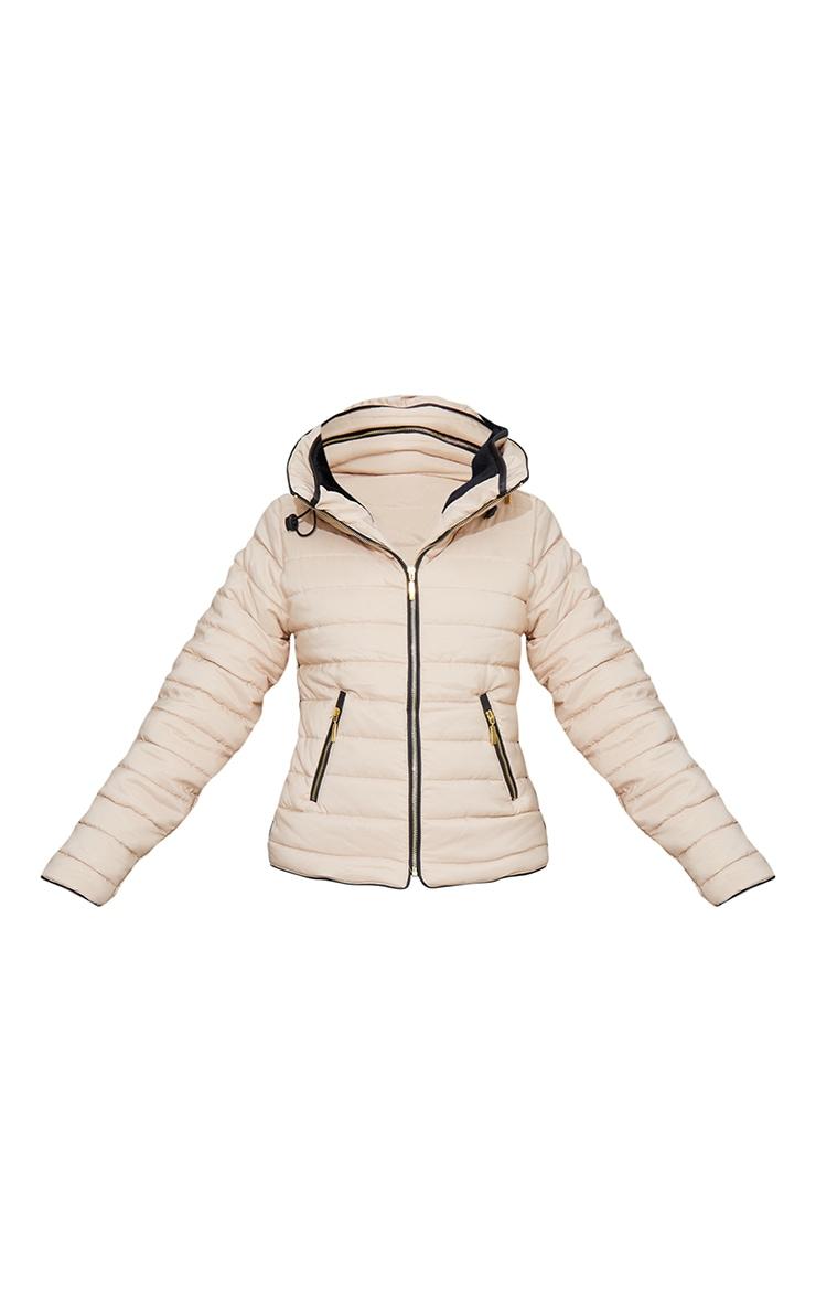 Mara Stone Puffer Jacket 5