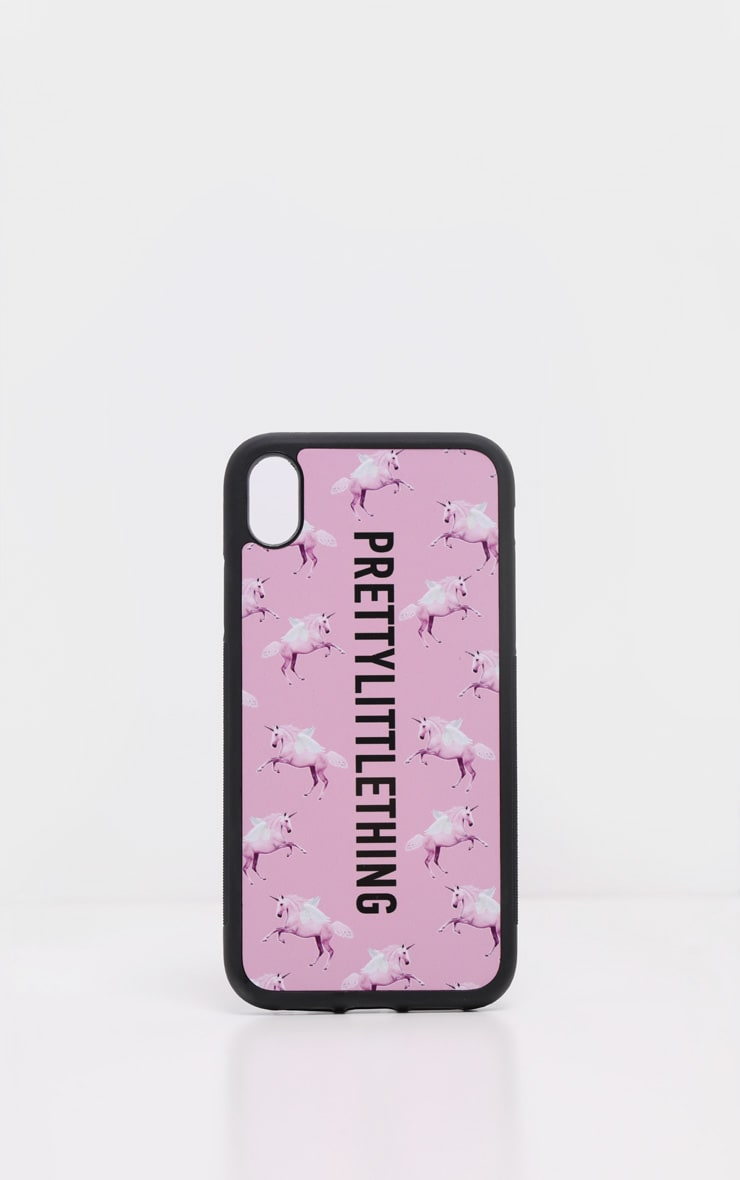 PRETTYLITTLETHING Unicorn Pink XR iPhone Case 2