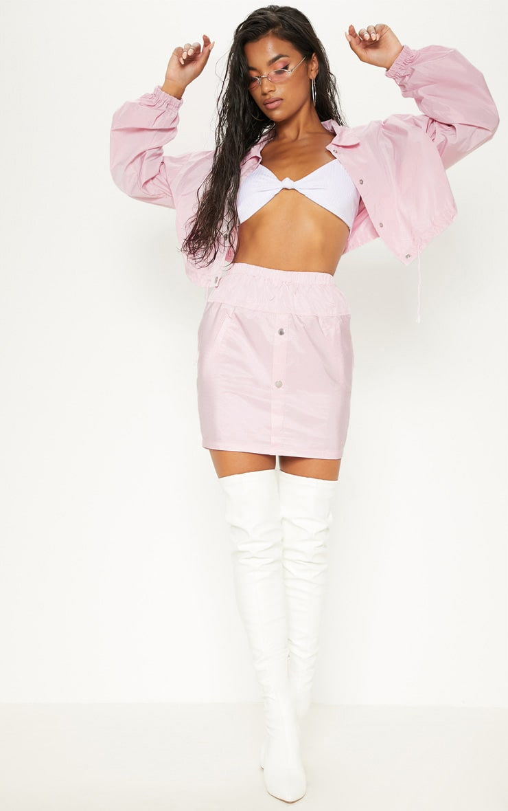 Pink Shell Suit Jacket 4