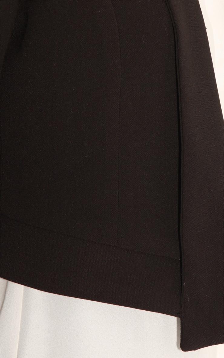 Eadie Black Cropped Blazer  6